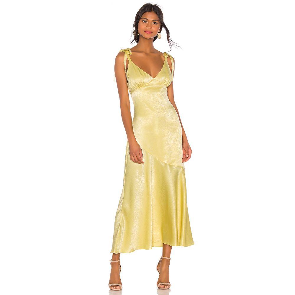プライバシー プリーズ Privacy Please レディース ワンピース ワンピース・ドレス【Nina Maxi Dress】Yellow