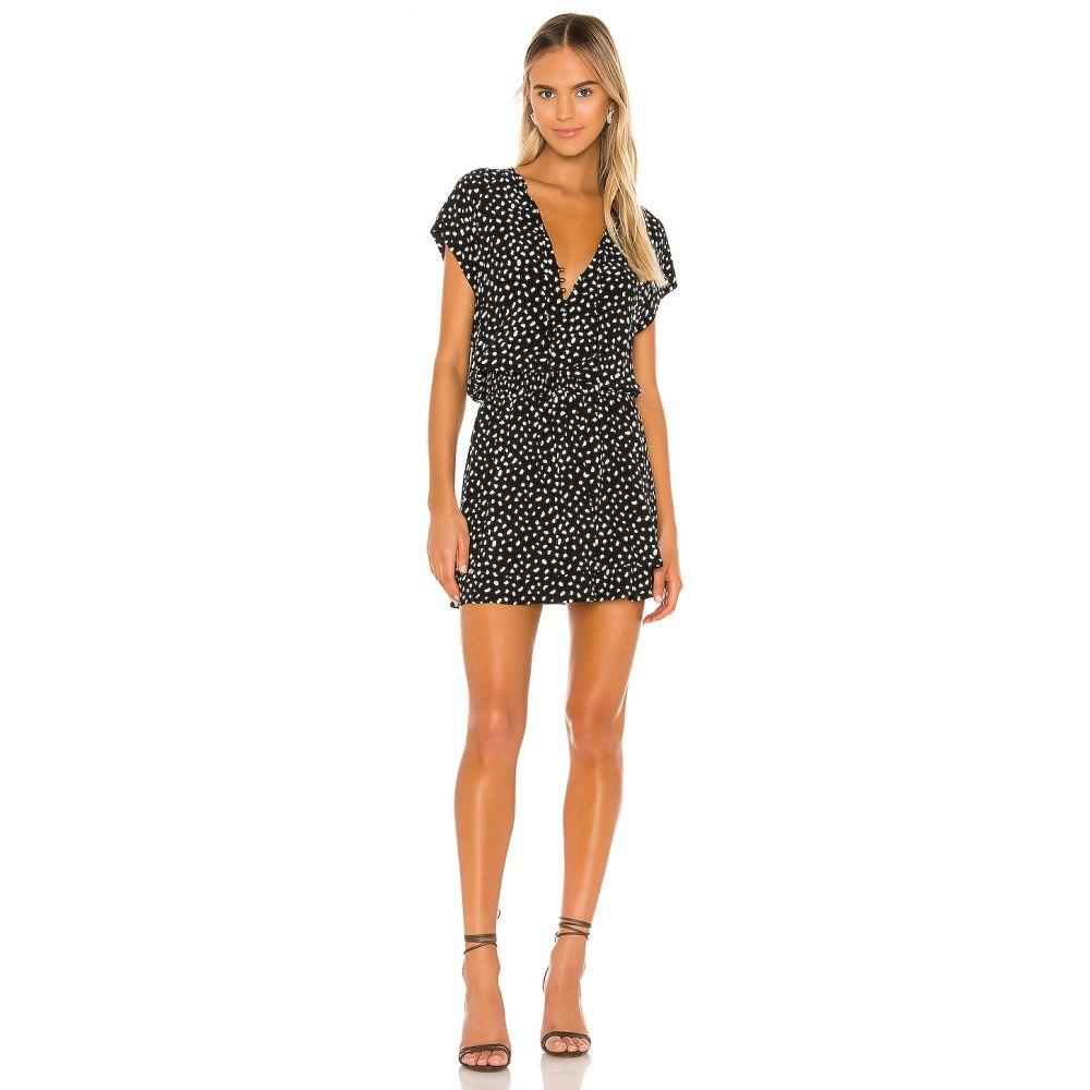 レイルズ Rails レディース ワンピース ワンピース・ドレス【Karla Mini Dress】Black Ivory Spots