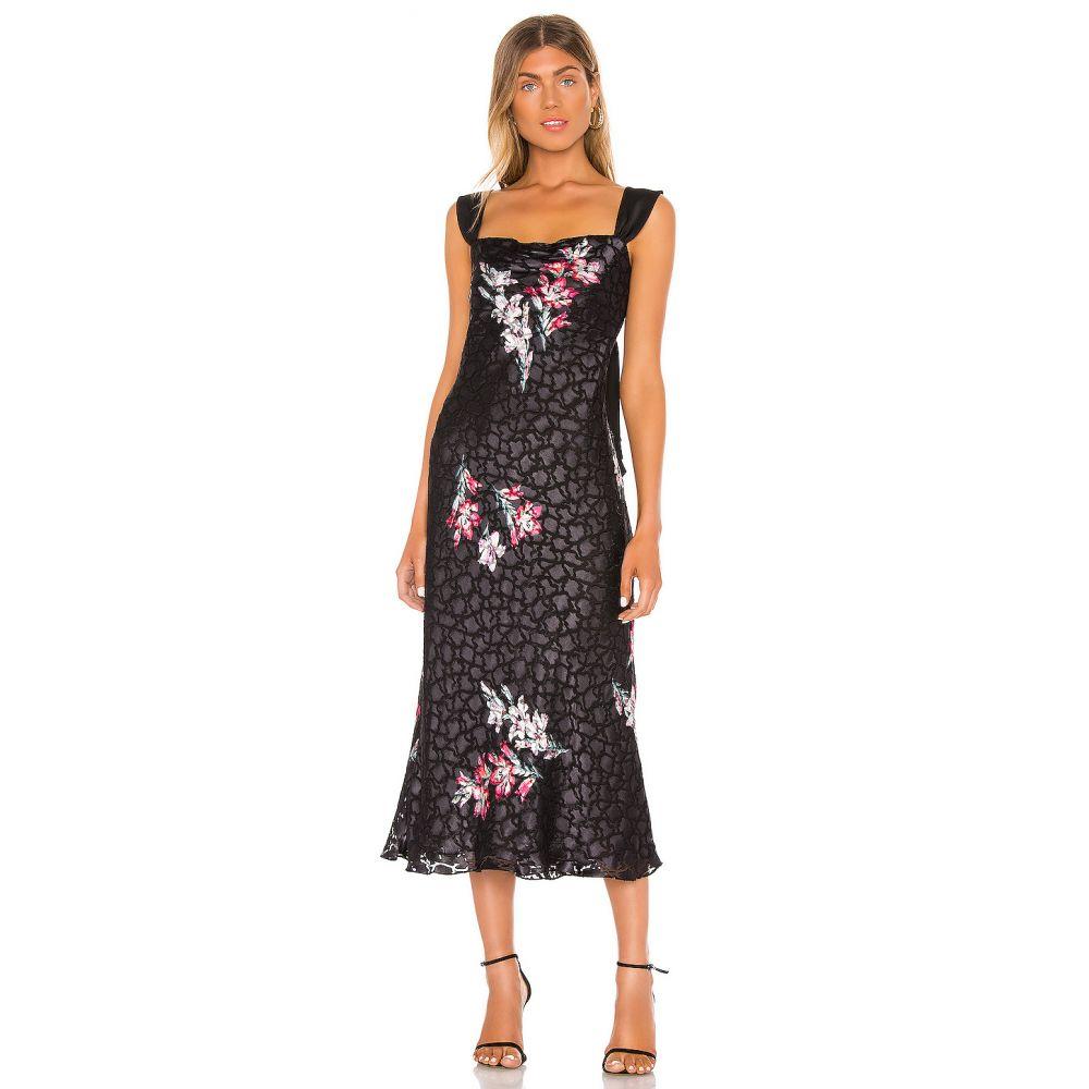 レベッカ テイラー Rebecca Taylor レディース ワンピース ワンピース・ドレス【Sleeveless Noha Floral Dress】Black Combo