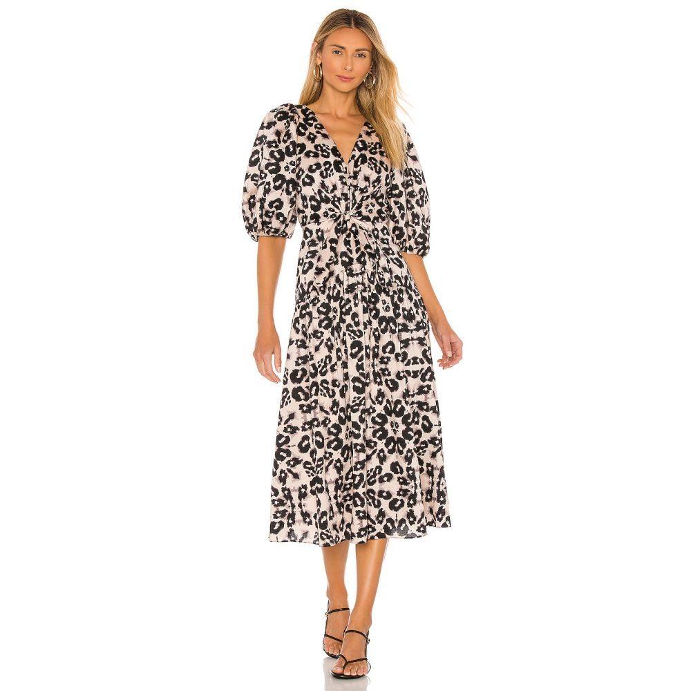 レベッカ テイラー Rebecca Taylor レディース ワンピース ワンピース・ドレス【Short Sleeve Kaleidoscope Dress】Camel Combo