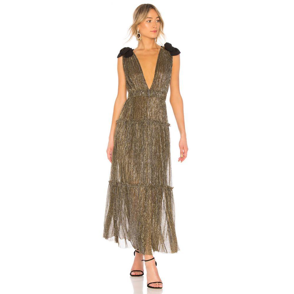 サビーナ ムサエフ Sabina Musayev レディース ワンピース ワンピース・ドレス【Ray Dress】Gold