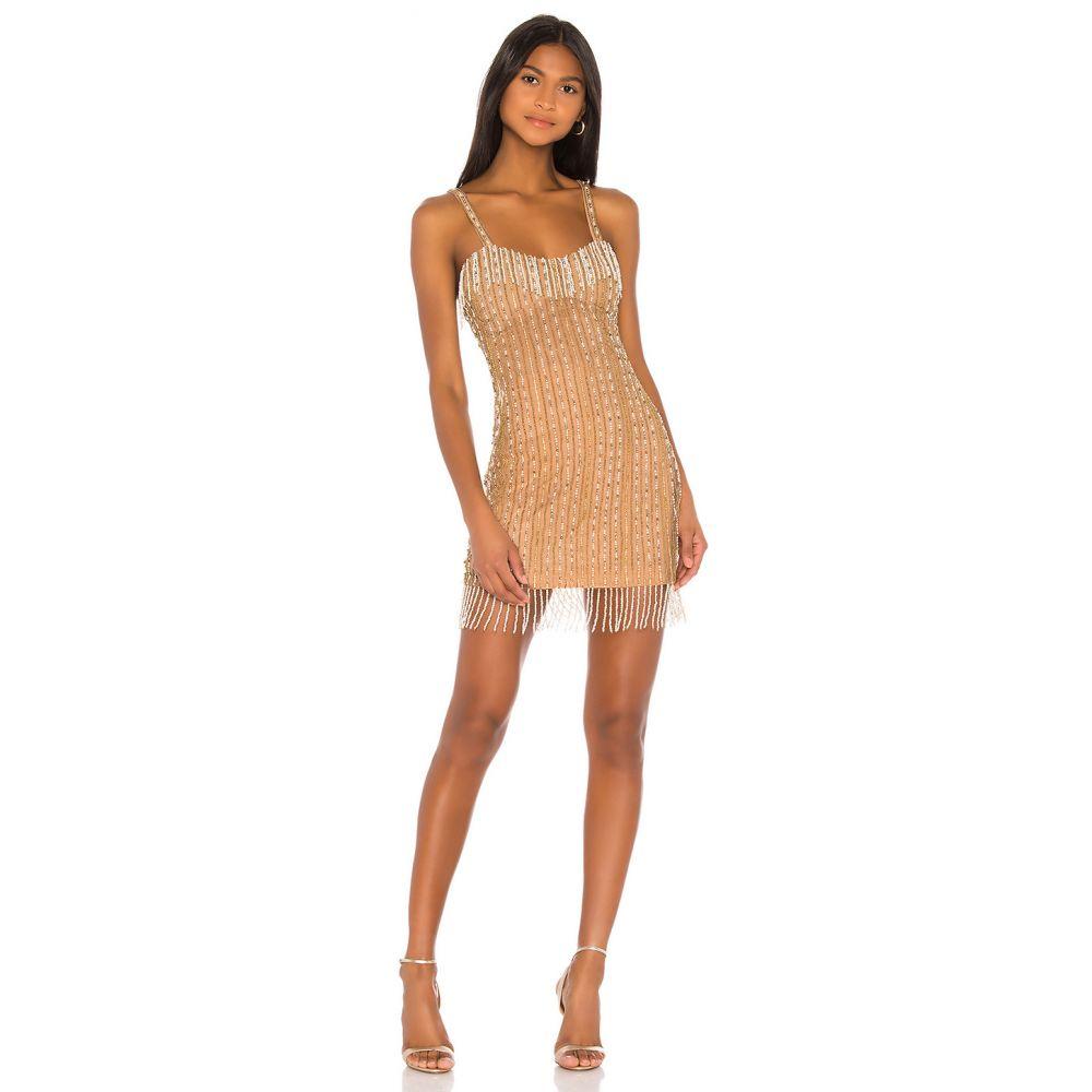 ソング オブ スタイル Song of Style レディース ワンピース ワンピース・ドレス【Leighton Mini Dress】Golden Pearl