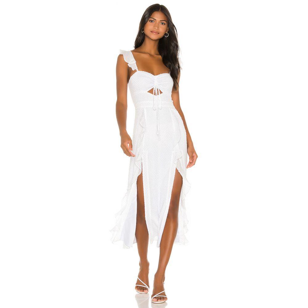 ソング オブ スタイル Song of Style レディース ワンピース ワンピース・ドレス【Maven Dress】White