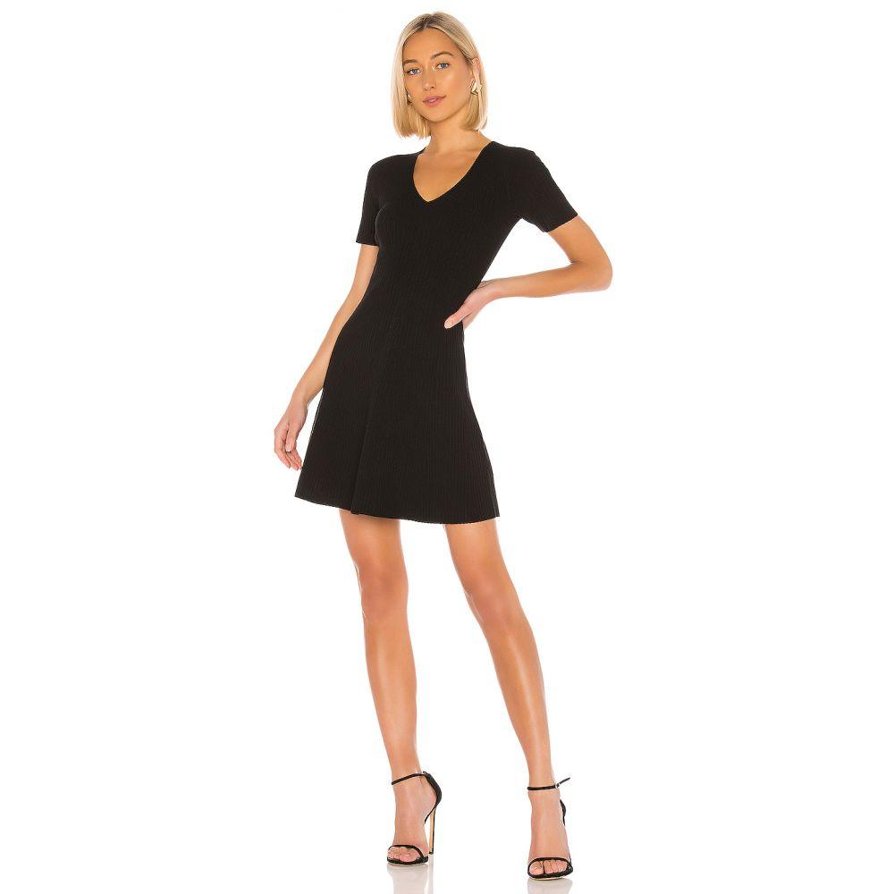 セオリー Theory レディース ワンピース ワンピース・ドレス【Knit Flare Dress】Black