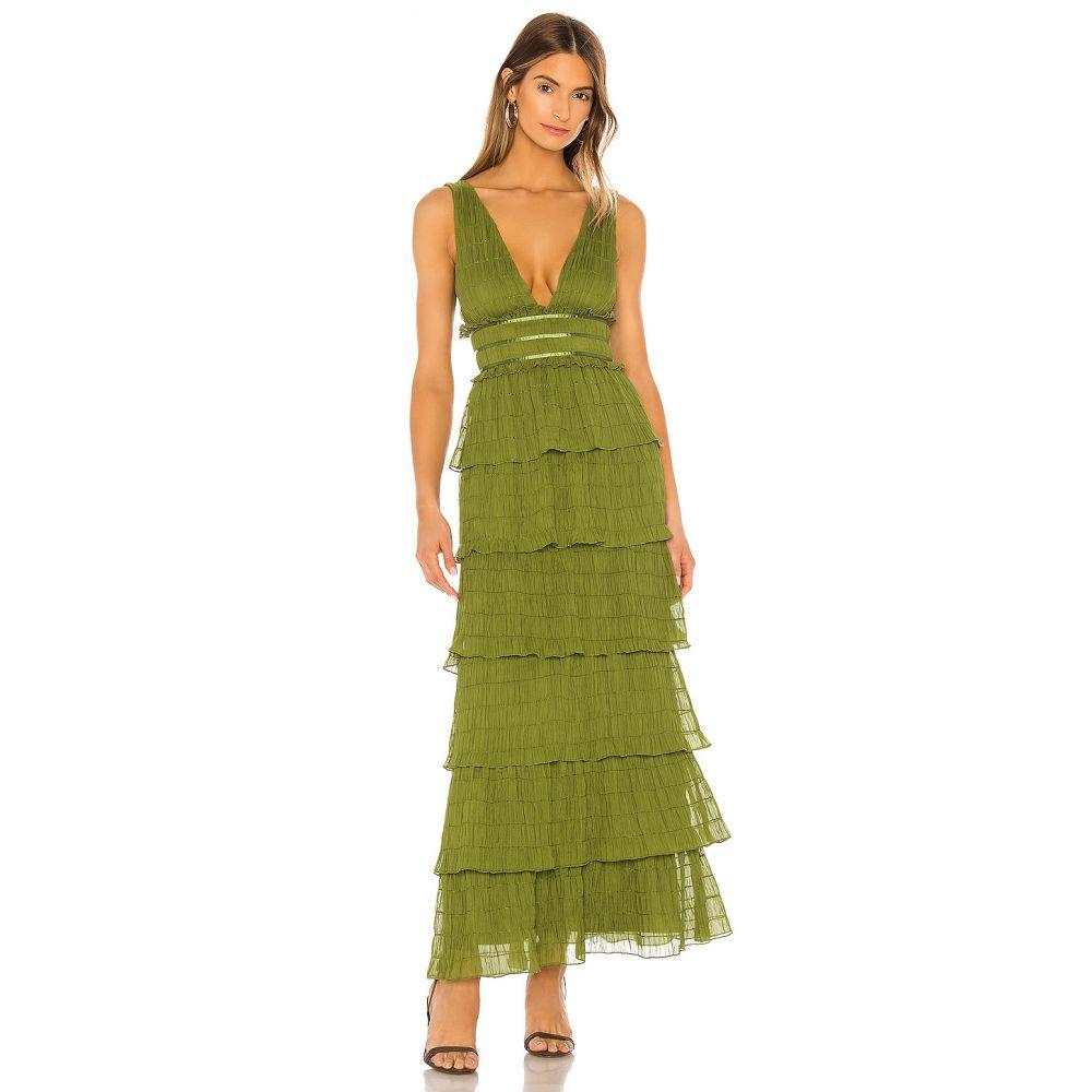 トゥラロサ Tularosa レディース ワンピース ワンピース・ドレス【Caden Dress】Moss Green