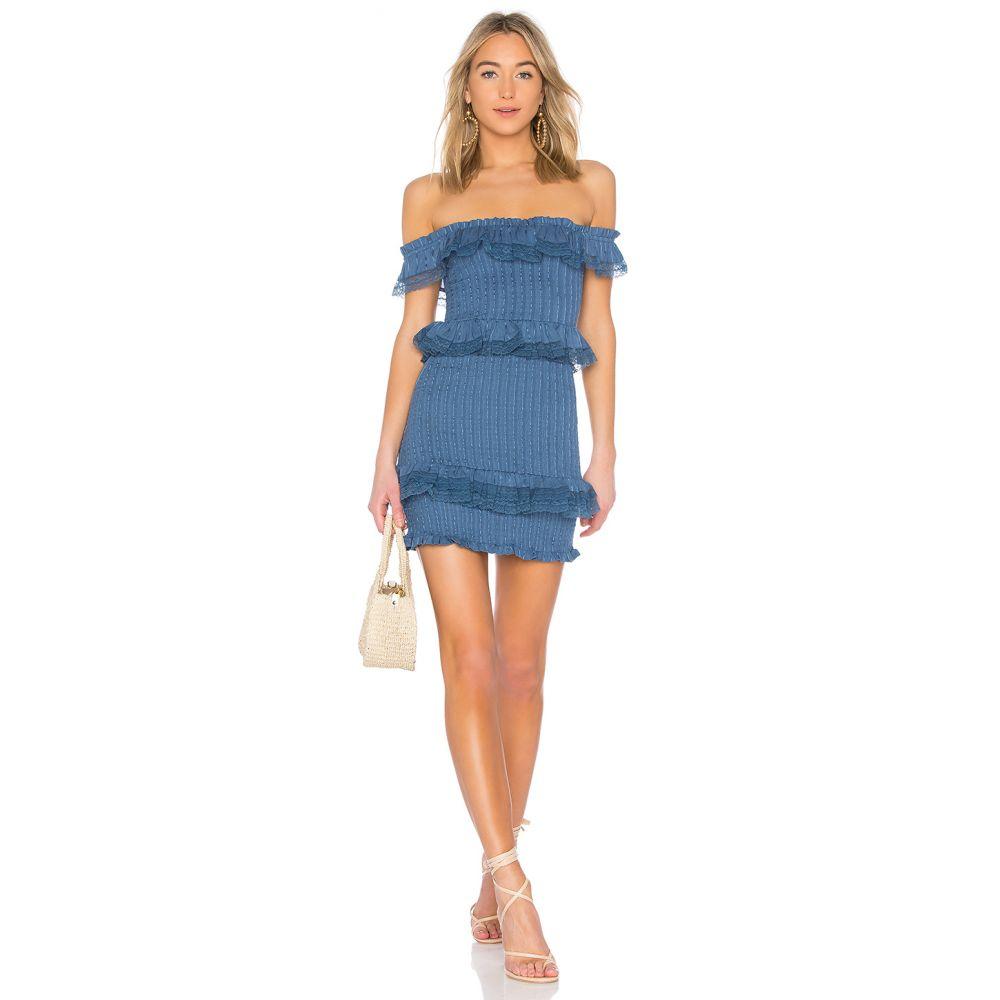 トゥラロサ Tularosa レディース ワンピース ワンピース・ドレス【Teri Dress】Horizon Blue