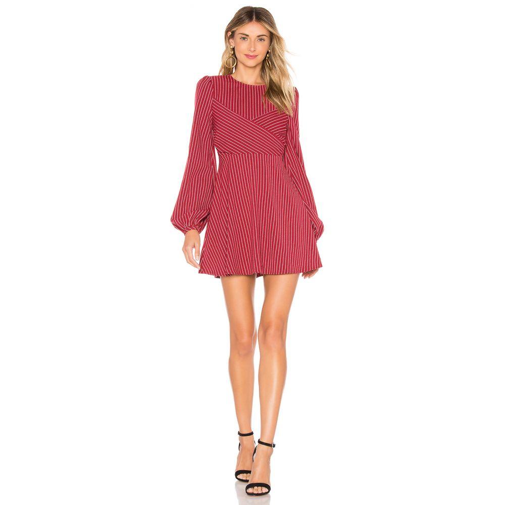 トゥラロサ Tularosa レディース ワンピース ワンピース・ドレス【Lina Dress】Ruby Red