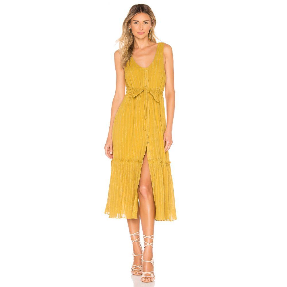 トゥラロサ Tularosa レディース ワンピース ワンピース・ドレス【Monroe Dress】Pear Yellow