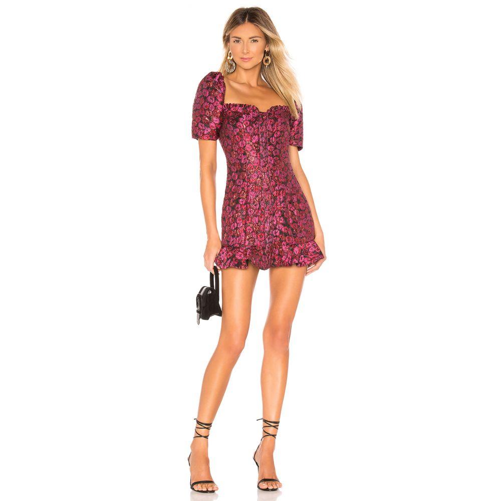 トゥラロサ Tularosa レディース ワンピース ワンピース・ドレス【Tate Dress】Deep Magenta