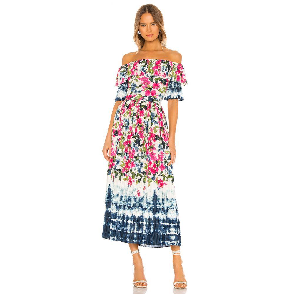 ミサロサンゼルス MISA Los Angeles レディース ワンピース ワンピース・ドレス【Mirabelle Dress】Dip Dye Floral