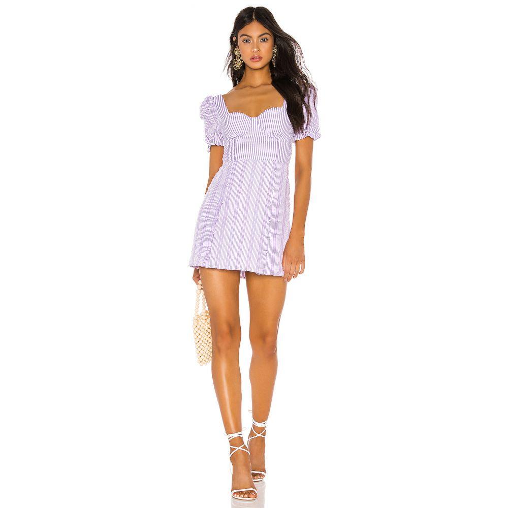 トゥラロサ Tularosa レディース ワンピース ワンピース・ドレス【Rosalind Dress】Lilac/White Stripe