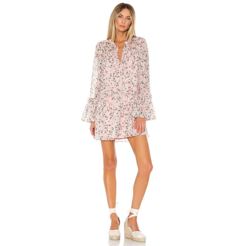 トゥラロサ Tularosa レディース ワンピース ワンピース・ドレス【Nathalie Dress】Pale Pink Floral