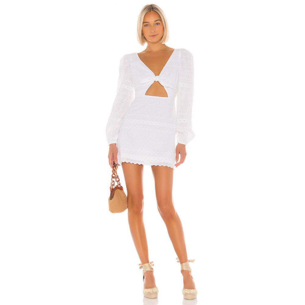 トゥラロサ Tularosa レディース ワンピース ワンピース・ドレス【Pippa Dress】White