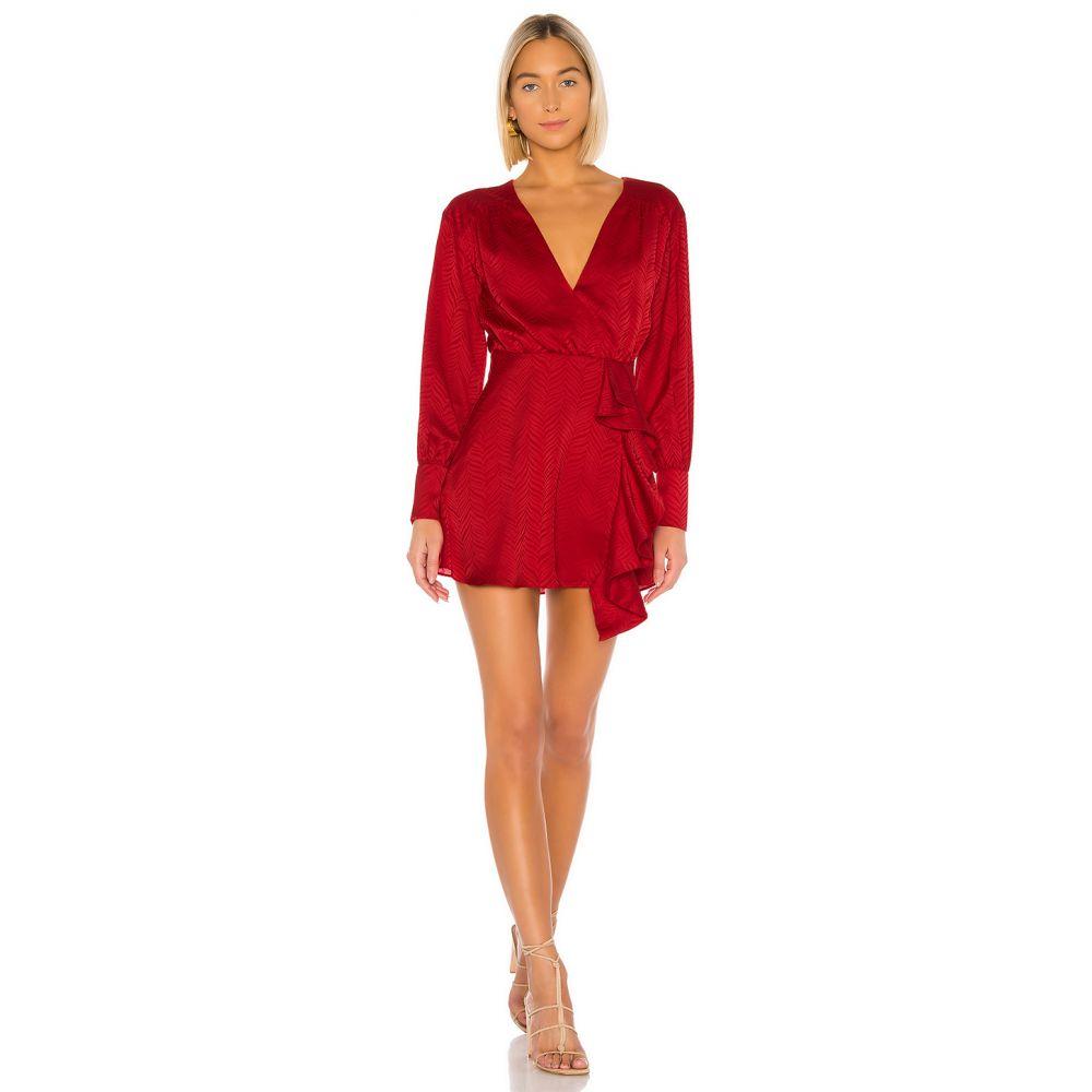 トゥラロサ Tularosa レディース ワンピース ワンピース・ドレス【Caleb Dress】Red