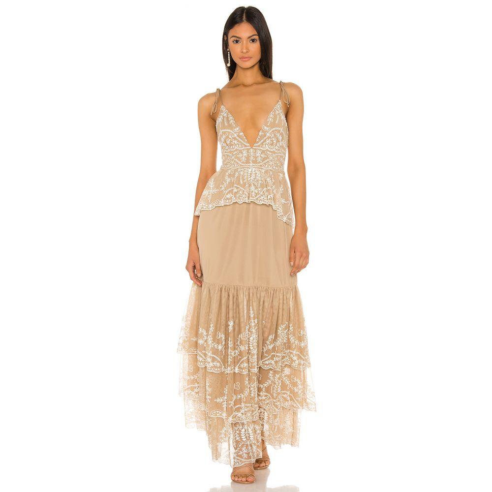 トゥラロサ Tularosa レディース ワンピース ワンピース・ドレス【Geonna Dress】Nude/White