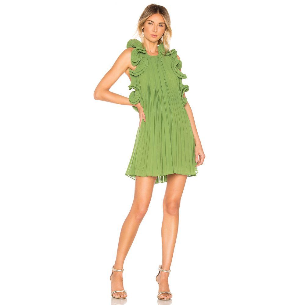 アムール AMUR レディース ワンピース ワンピース・ドレス【Mimi Short Dress】Grass Green