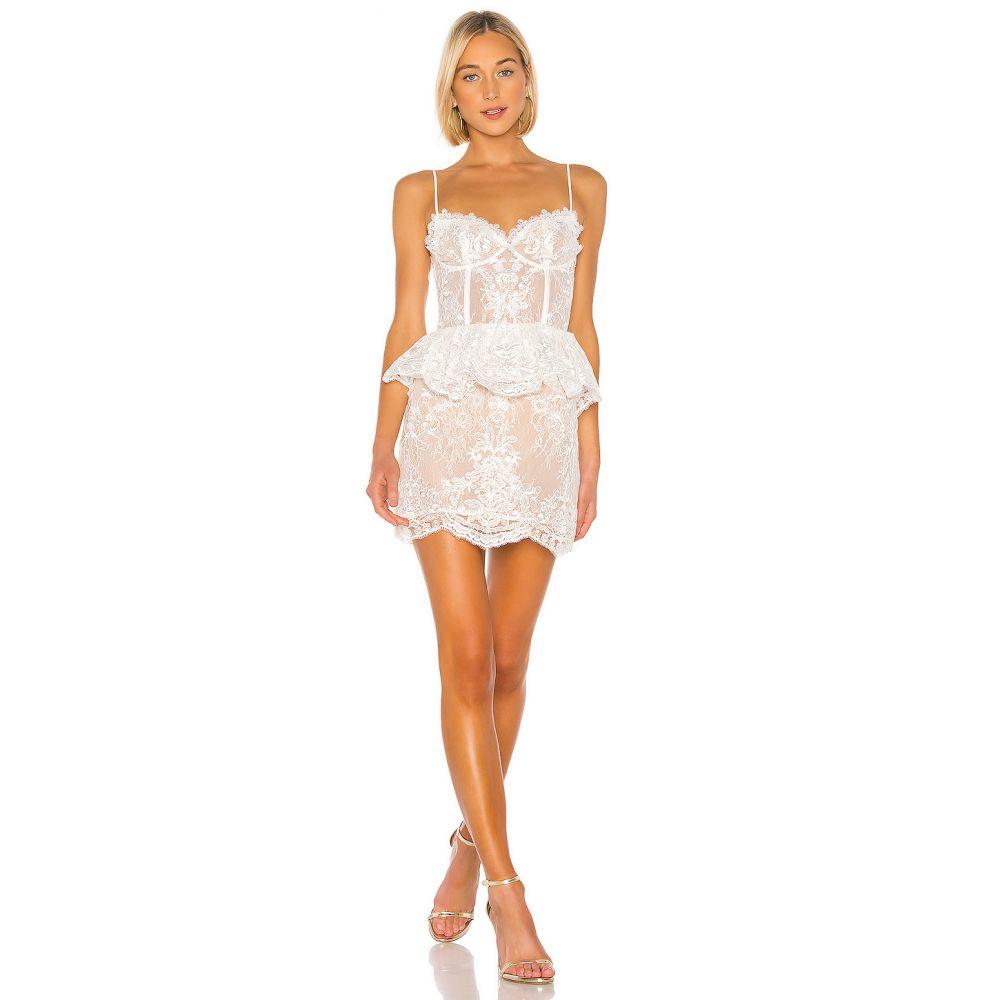 V.チャップマン V. Chapman レディース ワンピース ワンピース・ドレス【Poppy Dress】White