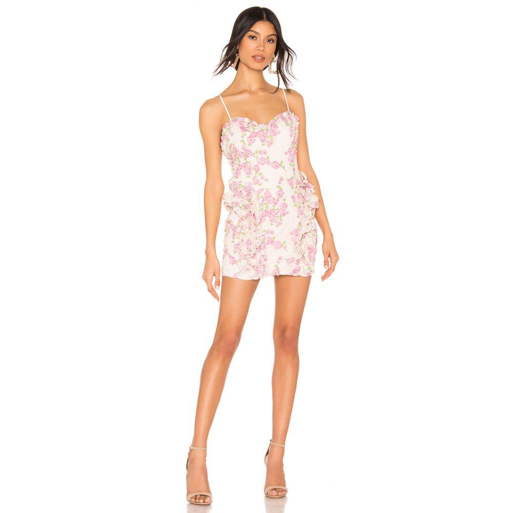 エックス by NBD X by NBD レディース ワンピース ワンピース・ドレス【Lovely Mini Dress】Pink/Ivory Ground