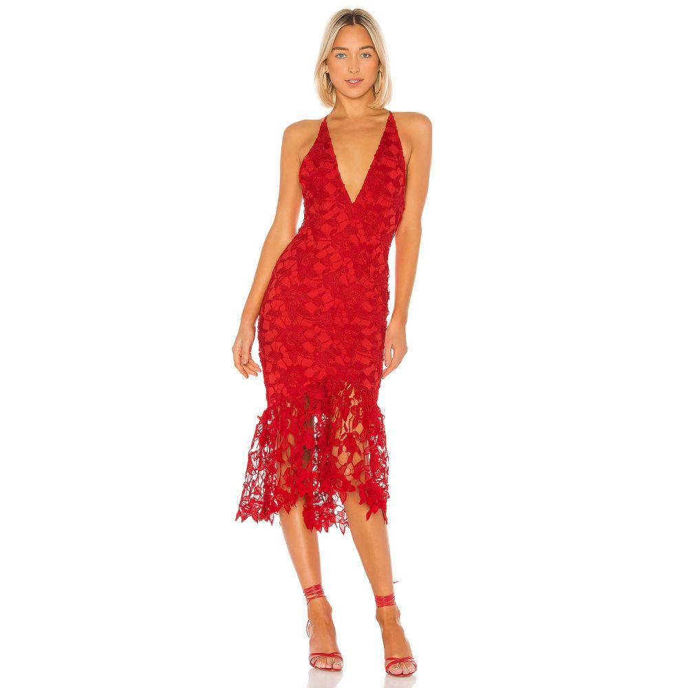 エックス by NBD X by NBD レディース ワンピース ワンピース・ドレス【Hayden Midi Dress】Candy Red