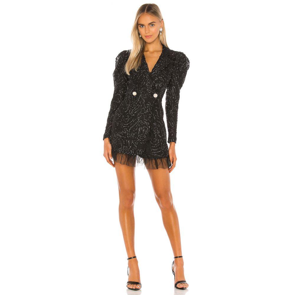 カミラ コエーリョ Camila Coelho レディース ワンピース ワンピース・ドレス【Kendra Blazer Dress】Black