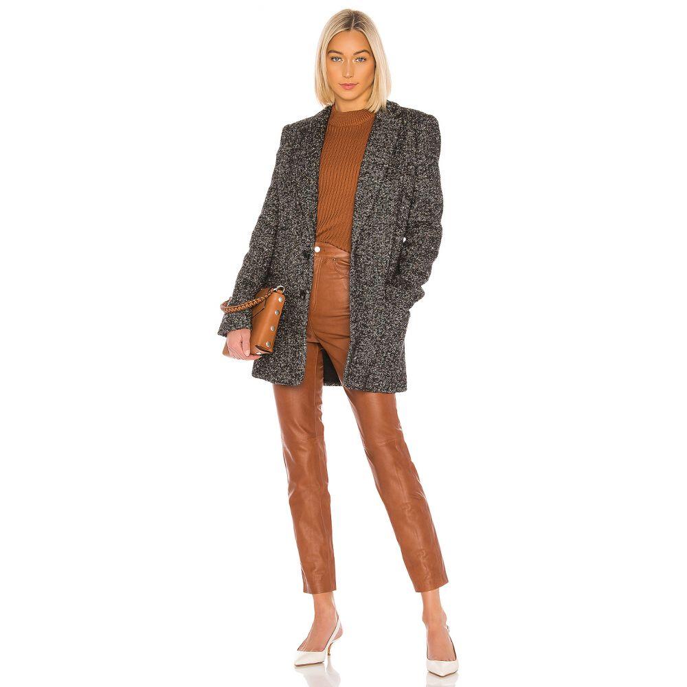 ティビ Tibi レディース スーツ・ジャケット アウター【Multicolor Tweed Long Blazer】Black Multi