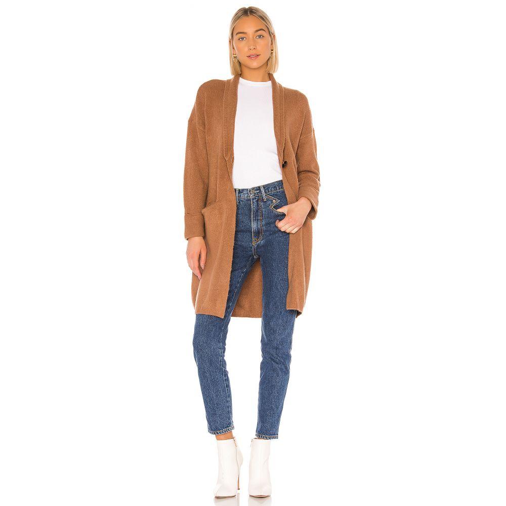 トゥラロサ Tularosa レディース ジャケット アウター【Bristol Sweater Jacket】Brown