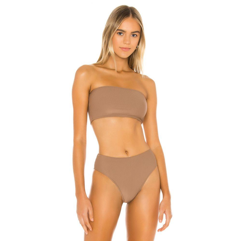 フランキーズ ビキニ Frankies Bikinis レディース トップのみ 水着・ビーチウェア【Jenna Top】Brownie