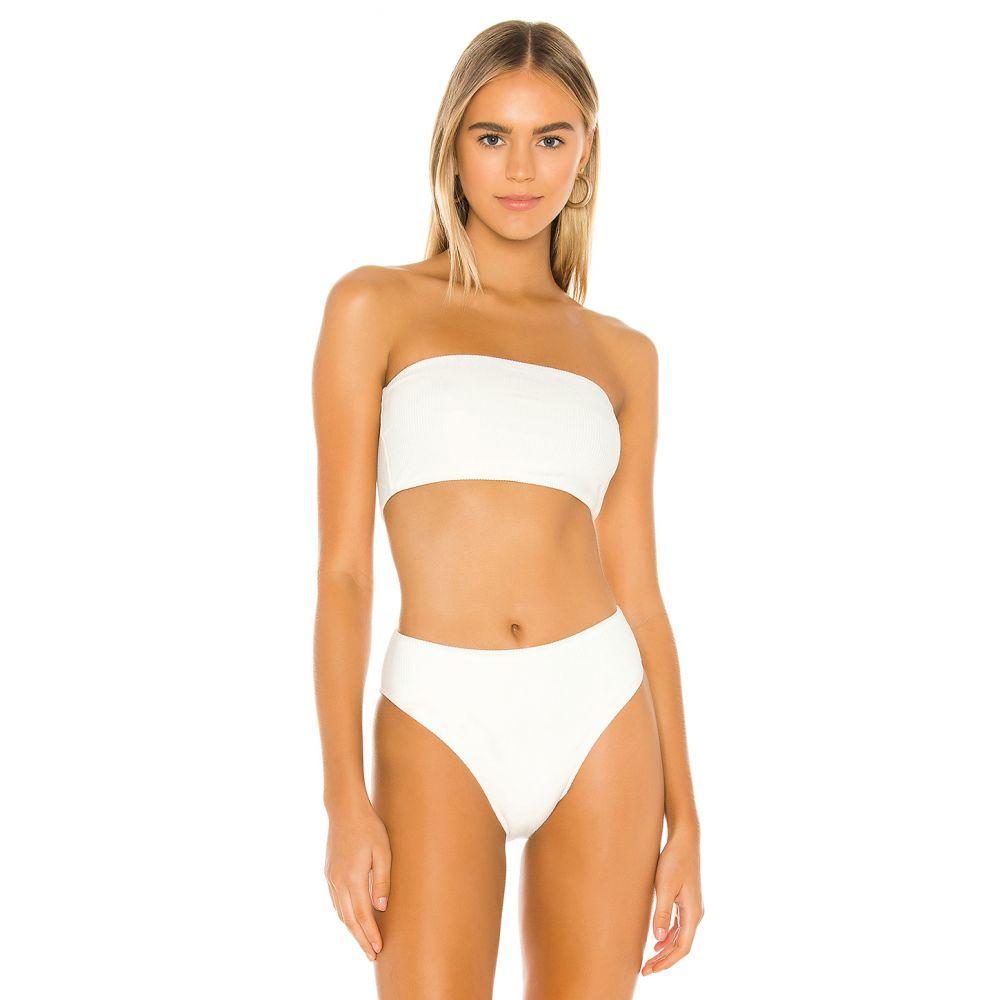 フランキーズ ビキニ Frankies Bikinis レディース トップのみ 水着・ビーチウェア【Jenna Top】White