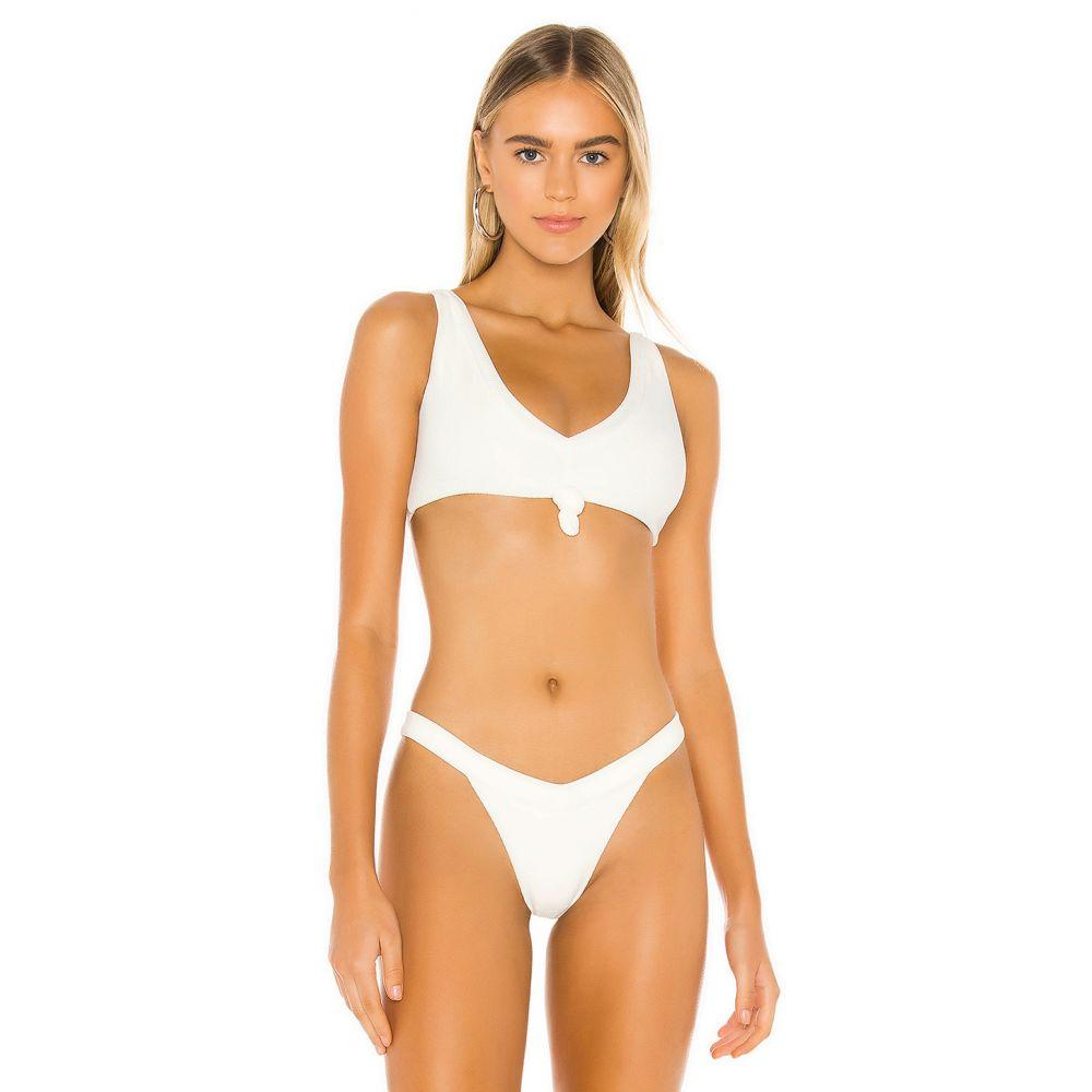 フランキーズ ビキニ Frankies Bikinis レディース トップのみ 水着・ビーチウェア【Austin Top】White