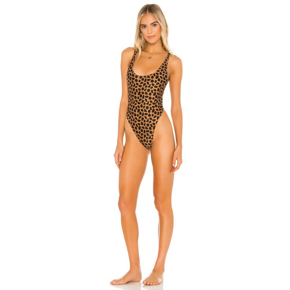 ブルーライフ Blue Life レディース ワンピース 水着・ビーチウェア【Farrah One Piece】Spotted Cheetah