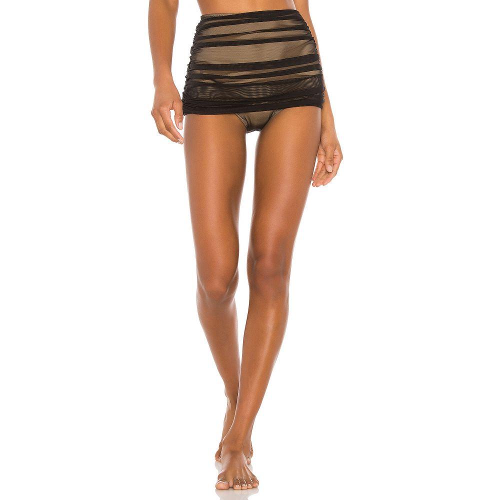 ノーマ カマリ Norma Kamali レディース ボトムのみ 水着・ビーチウェア【Bill Bikini Bottom】Black Mesh