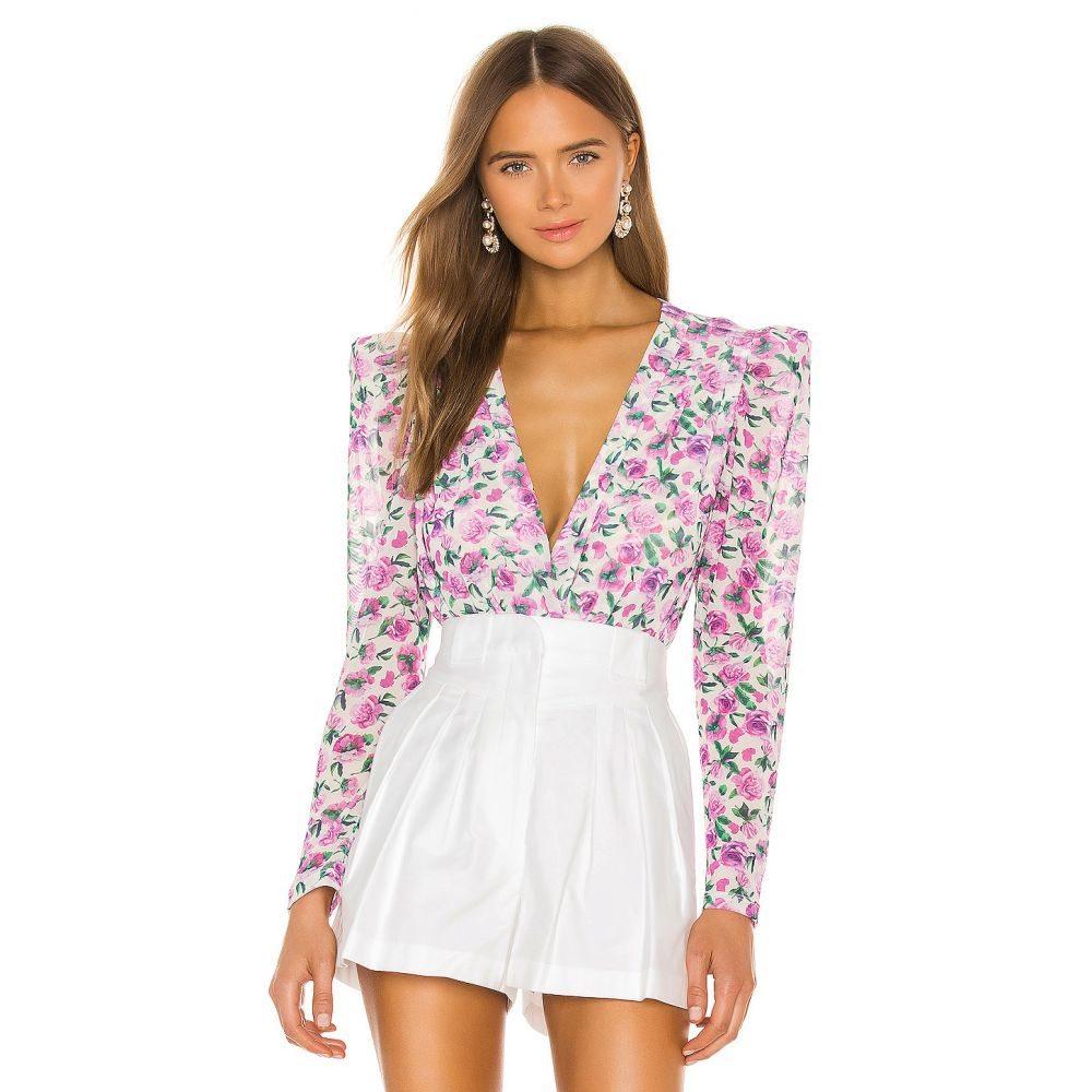 イオラネ IORANE レディース ボディースーツ インナー・下着【Floral Tulle Bodysuit】Mini Floral