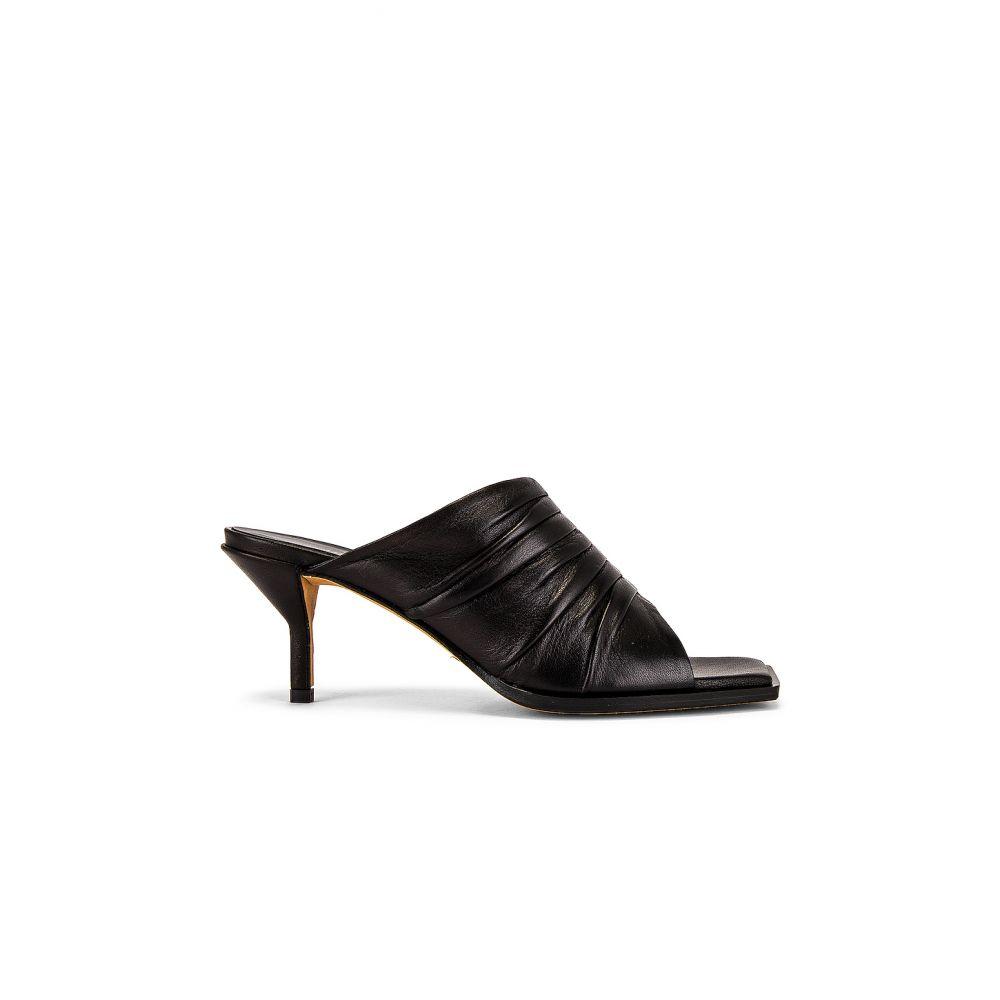 スリーワン フィリップ リム 3.1 phillip lim レディース サンダル・ミュール シューズ・靴【Georgia Ruched Mule】Black