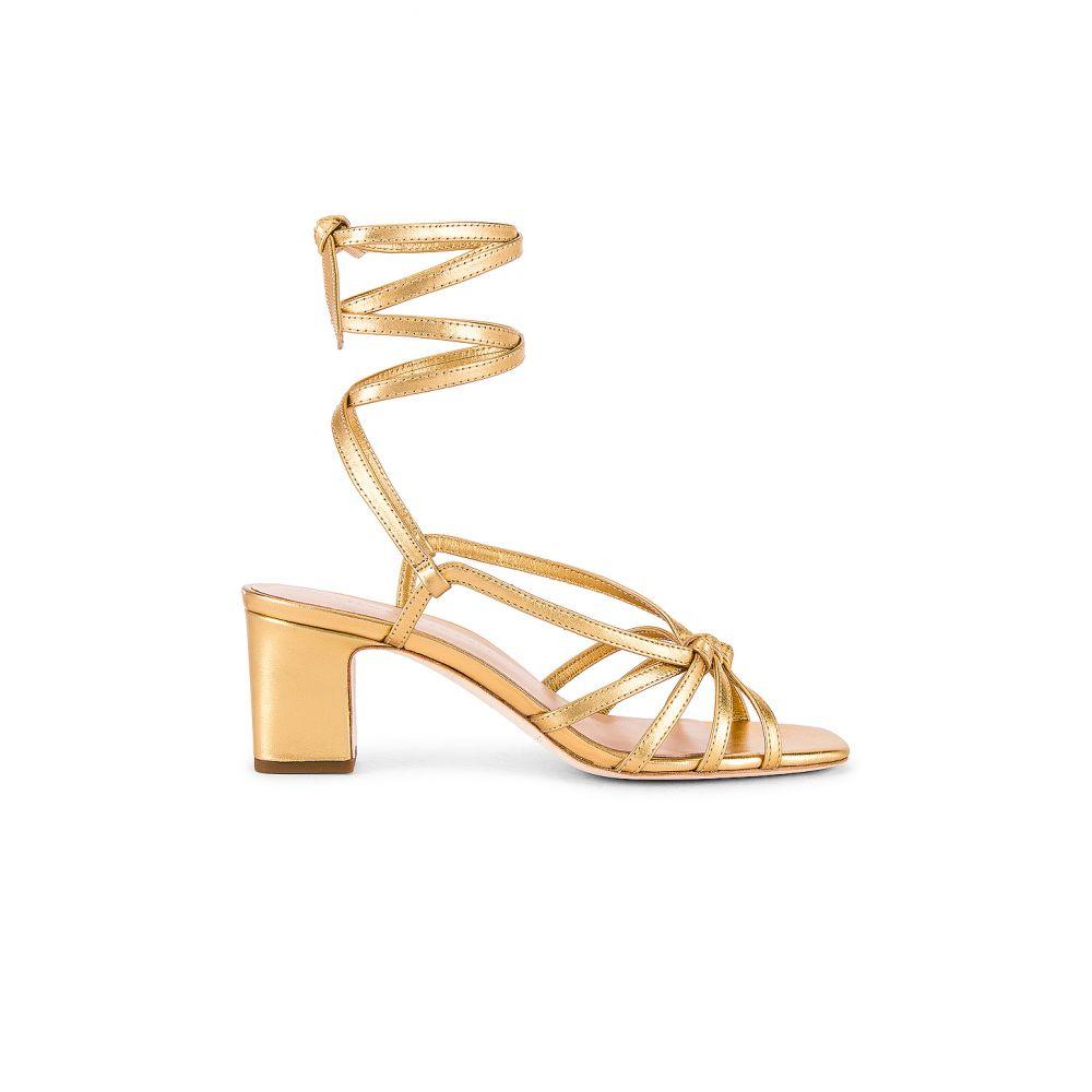 ロフラーランドール Loeffler Randall レディース サンダル・ミュール シューズ・靴【Libby Knotted Wrap Heel】Gold