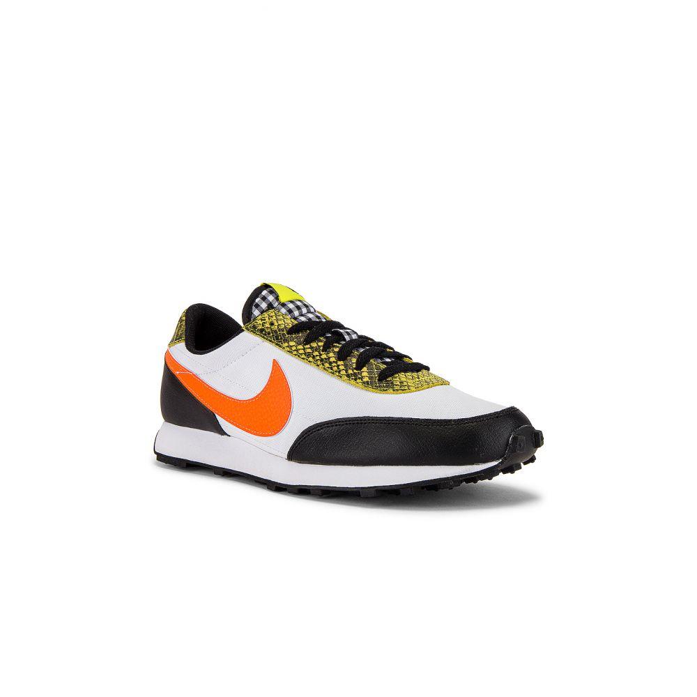 ナイキ Nike レディース スニーカー シューズ・靴【Daybreak Sneaker】Black/Total Orange/Dynamic Yellow/White