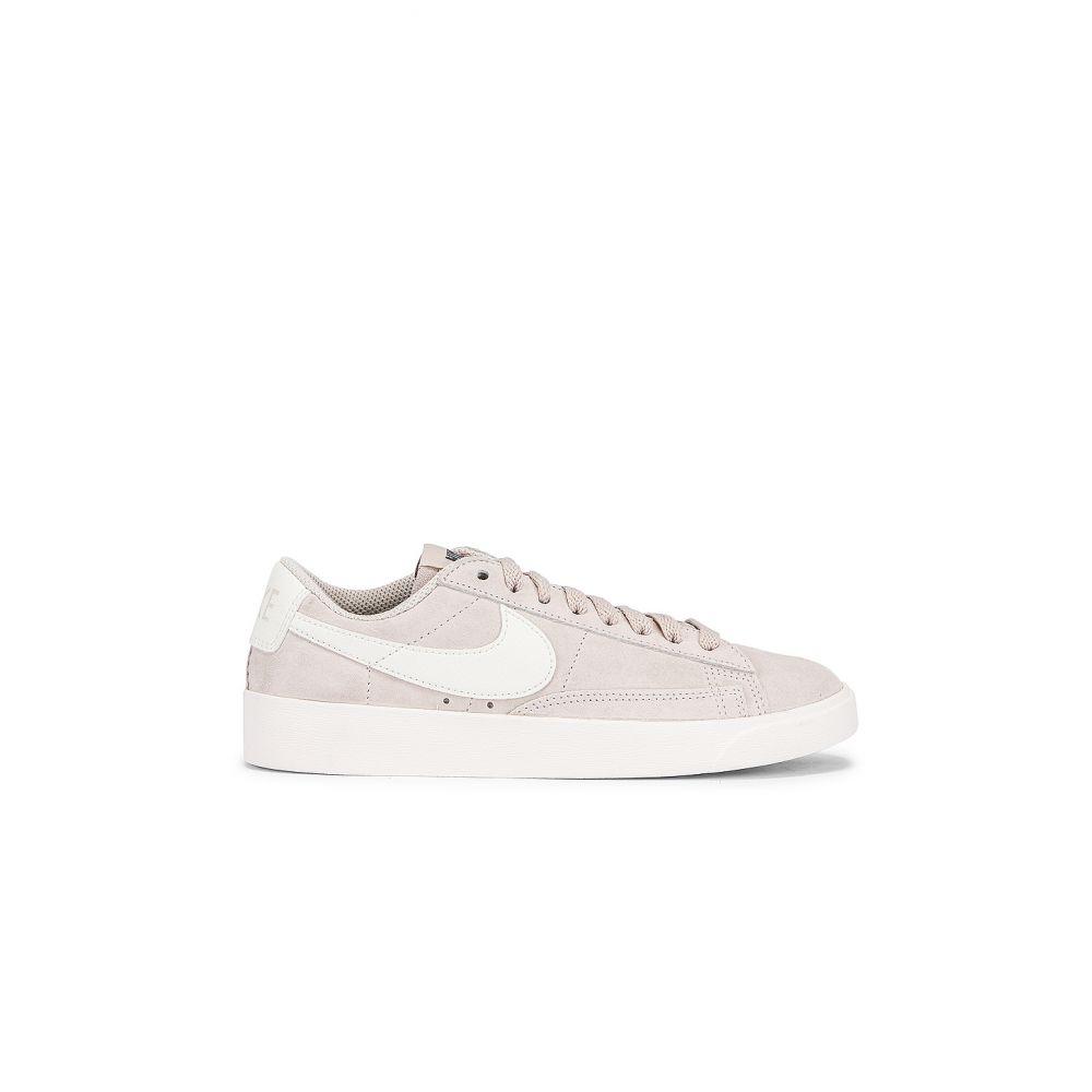 ナイキ Nike レディース スニーカー シューズ・靴【Blazer Low Suede Sneaker】Sand