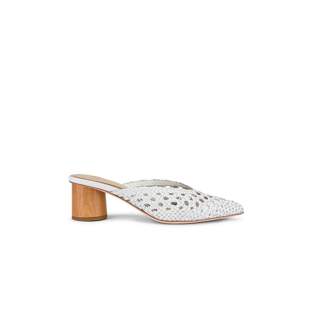 ペイジ PAIGE レディース サンダル・ミュール シューズ・靴【Erin Mule】White