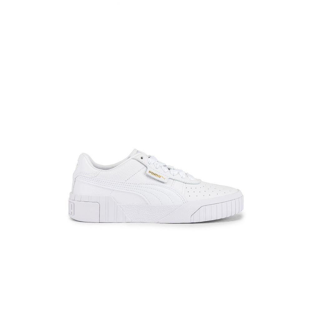 プーマ Puma レディース スニーカー シューズ・靴【Cali Sneaker】Puma White/Puma White