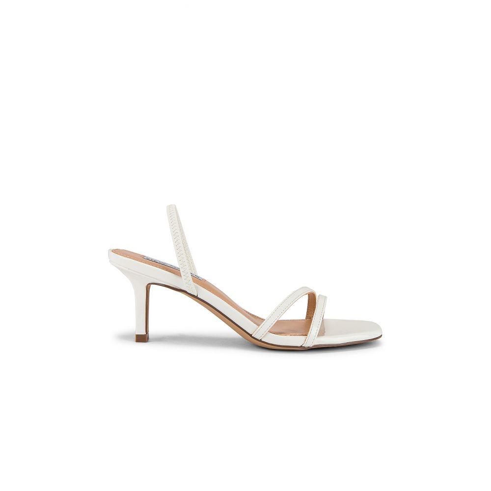 スティーブ マデン Steve Madden レディース サンダル・ミュール シューズ・靴【Loft Kitten Heel Sandal】White Patent