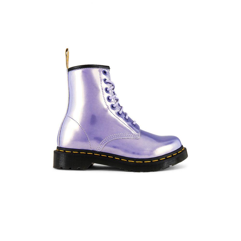 ドクターマーチン Dr. Martens レディース ブーツ シューズ・靴【1460 Vegan Boot】Purple Heather