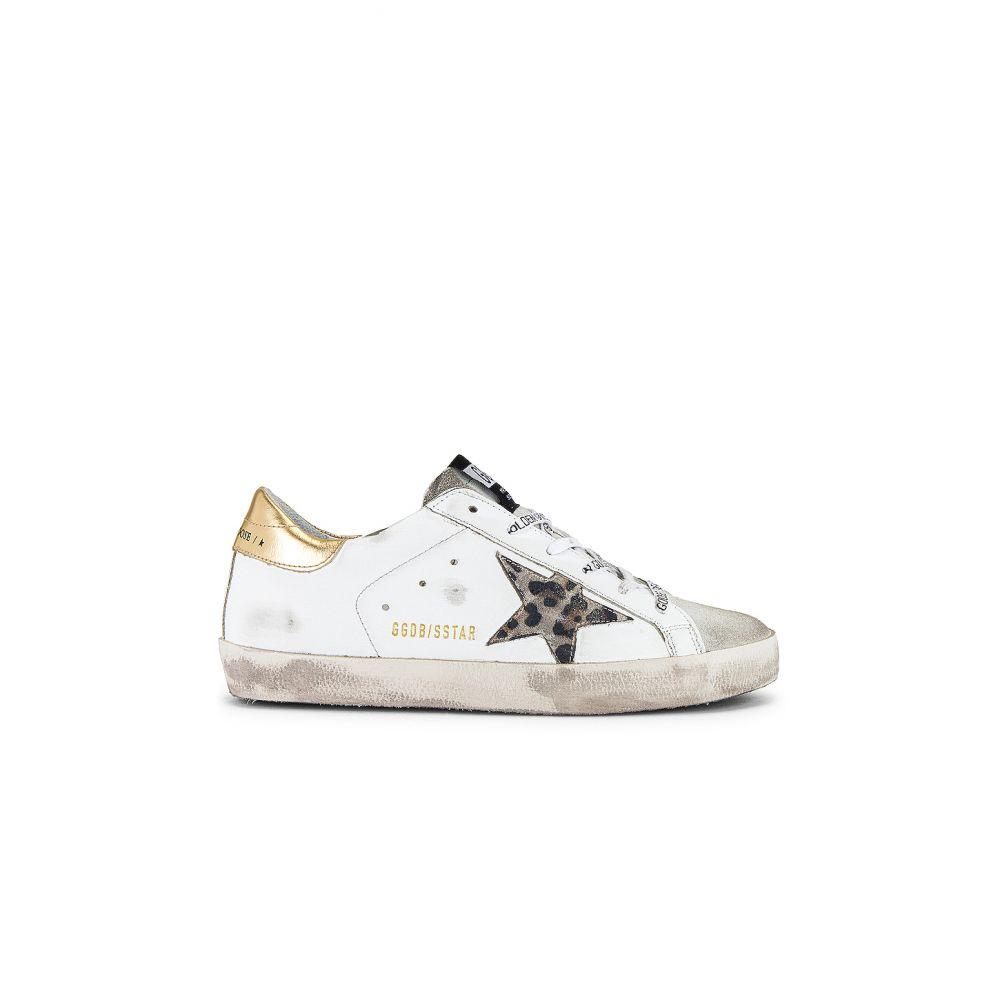 ゴールデン グース Golden Goose レディース スニーカー シューズ・靴【Superstar Sneaker】White/Spotted Star/Logo Lace