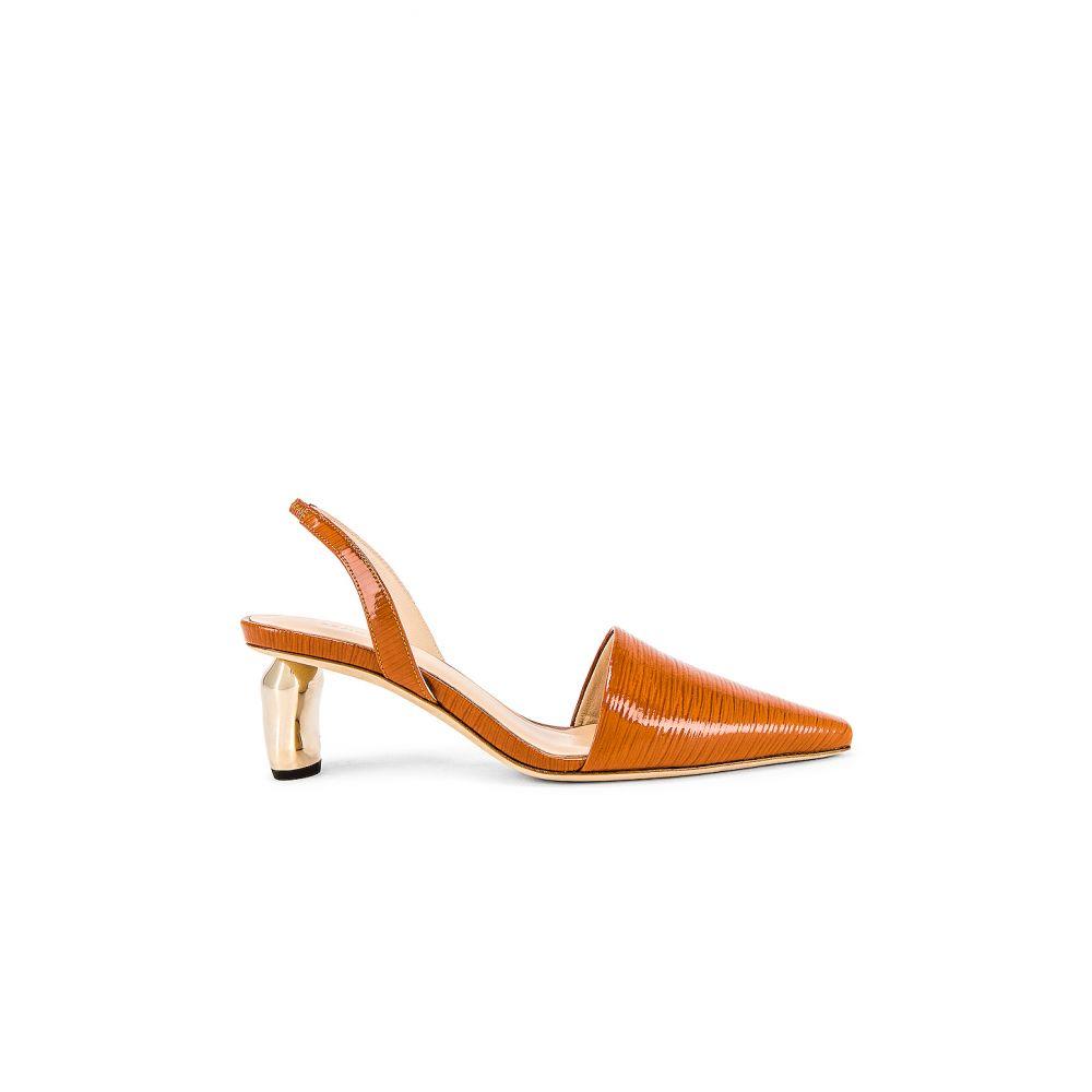 レジーナ ピヨ REJINA PYO レディース ヒール シューズ・靴【Conie Slingback】Patent Leather Emboss Almond