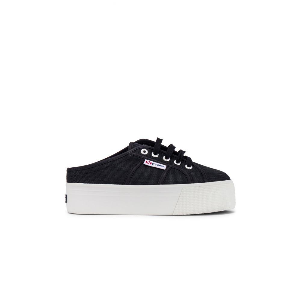 スペルガ Superga レディース スニーカー シューズ・靴【2284 COTW Sneaker】Black/White