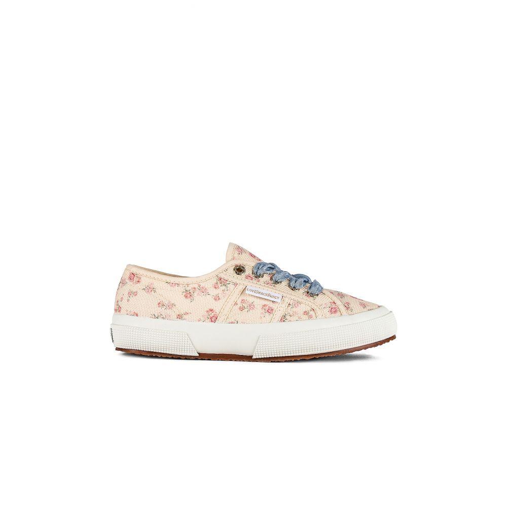 スペルガ Superga レディース スニーカー シューズ・靴【x LoveShackFancy Classic 2750 Sneaker】Rosetta Print Cream