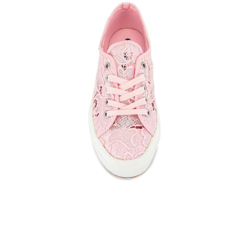 スペルガ Superga レディース スニーカー シューズ・靴 2750 Macrame Sneaker PinkrhCsQdBtx
