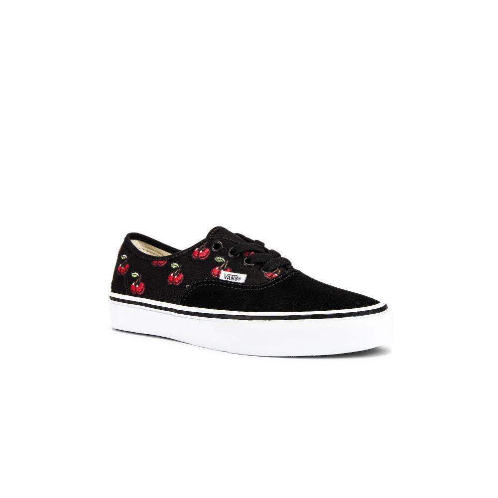ヴァンズ Vans レディース スニーカー シューズ・靴【Authentic】Black