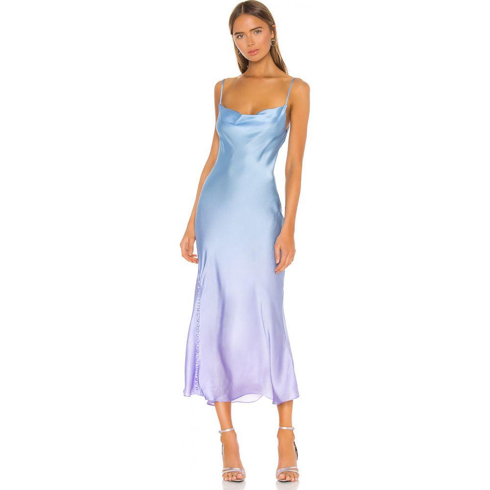 オリビアルービン Olivia Rubin レディース ワンピース スリップドレス ワンピース・ドレス【Lia Slip Dress】Lilac Blue Ombre