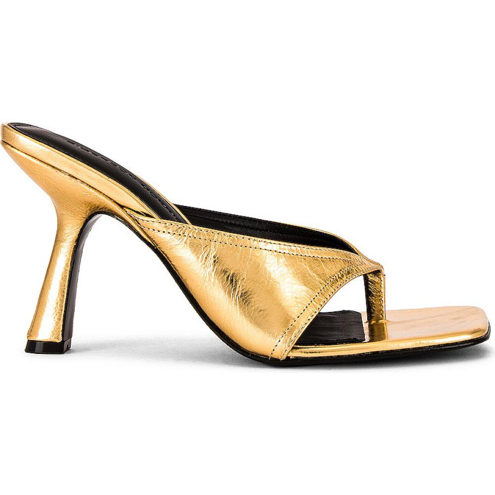 シガーソン モリソン Sigerson Morrison レディース サンダル・ミュール シューズ・靴【Kaliska Sandal】Gold