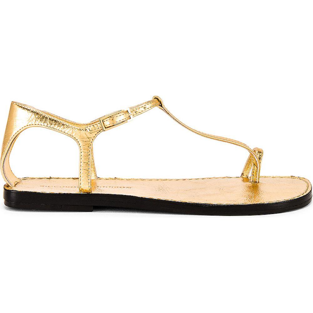シガーソン モリソン Sigerson Morrison レディース サンダル・ミュール シューズ・靴【Nelson Sandal】Gold