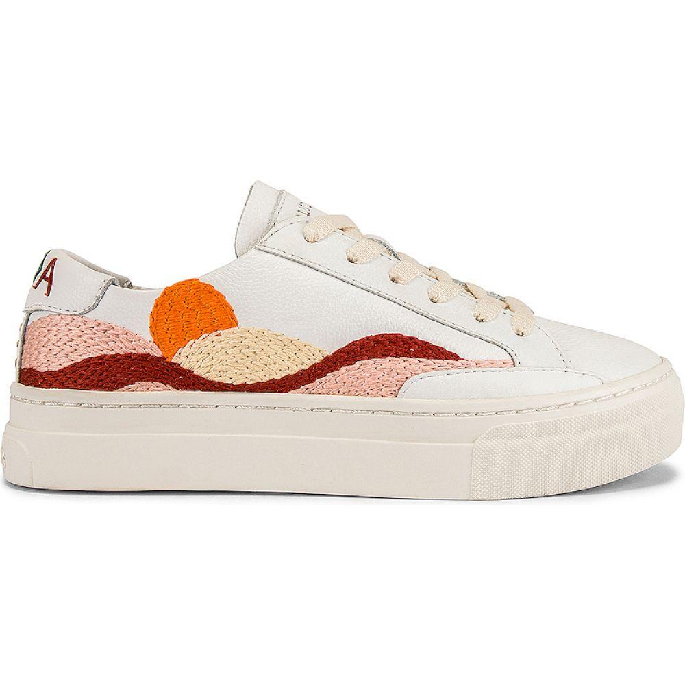 ソルドス Soludos レディース スニーカー シューズ・靴【Hawaiian Fauna Sneaker】White